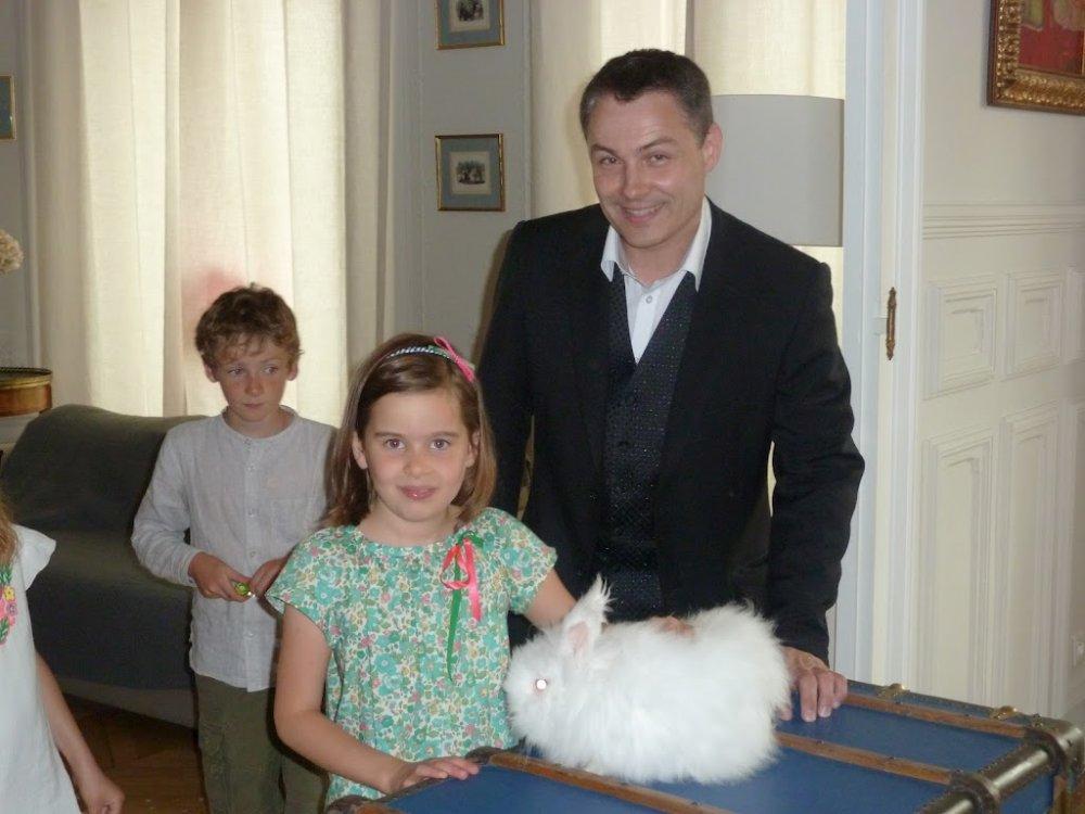 magicien enfant