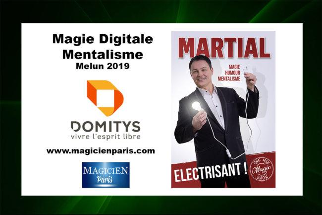 Magicien numérique à Melun