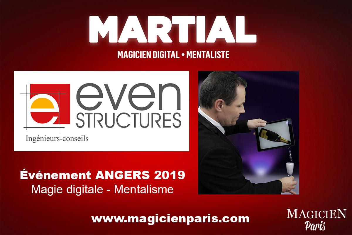 Magicien mentaliste et digital