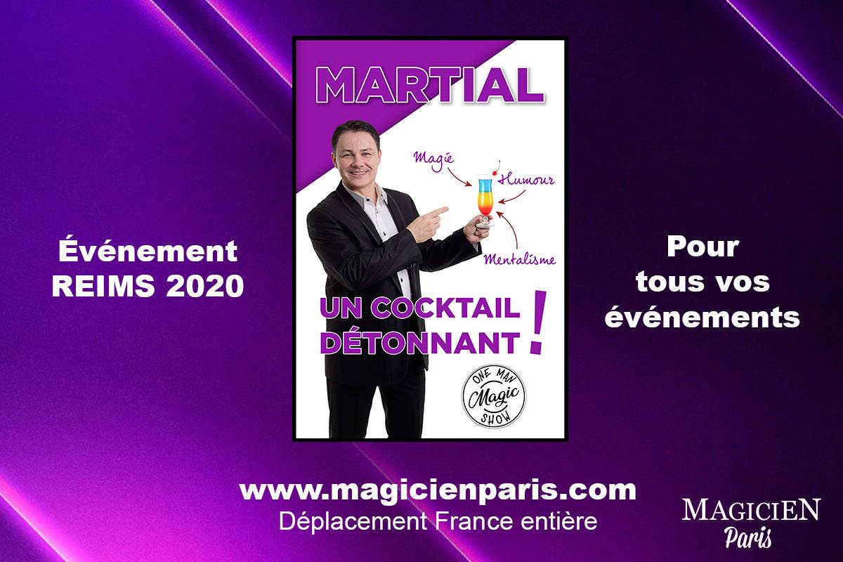 Magie et mentalisme à Reims