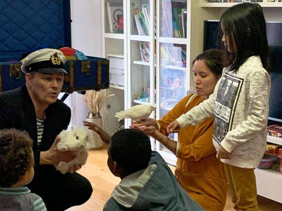 Martial magicien spectacle anniversaire enfants